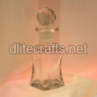 Clear Glass Perfume Bottle And Decanter