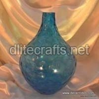 Color Glass Flower Vase