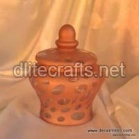 Color Glass Jar & Canister