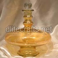 Color Glass Perfume Bottle And Decanter