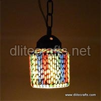 Color Mosaic Glass Hanging