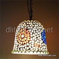 Color Mosaic Glass Hangings