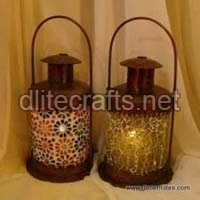 Glass Christmas Lanterns