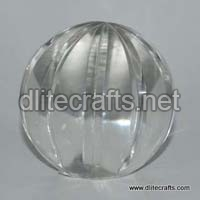 Glass Clear Cut Paper Weight