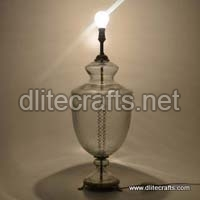 Glass Clear Table Lamp