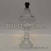 Glass Clear Table Lamps