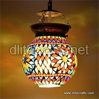 Glass Color Mosaic Hanging