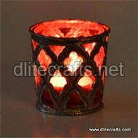 Glass Color Votive