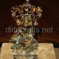 Glass God Statues