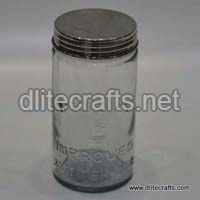 Glass Lid Clear Jar