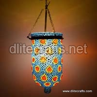 Glass Mosaic Color Multi Hanging