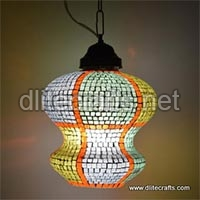 Glass Mosaic Hanging Color