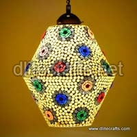Glass Mosaic Multi Color Hanging