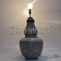 Glass Oil Table Lamp
