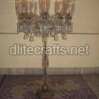 Glass Pedestal Lamps