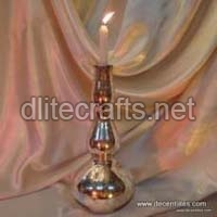 Glass Pillar Candle Sticks