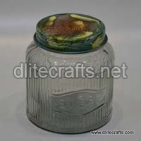 Glass Press Jar