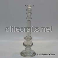 GlassClear  Candle Stand