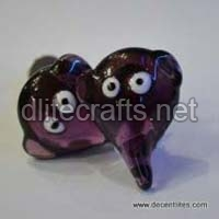 Handicrafts Glass Knob