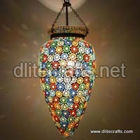 Mosaic Color Glass Hanging