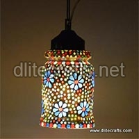 Mosaic Glass Color Hanging