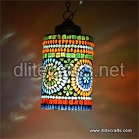 Multi Color Glass Hanging