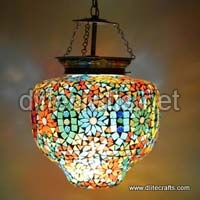 Multi Color Mosaic Hanging
