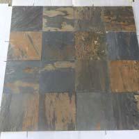 Black Rustic 30x30 Slate Stone