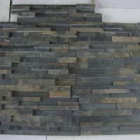 Black Rustic 60x15cm Slate Stone