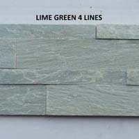Lime Green Slate Stone