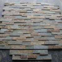 M Green Rustic 4 Lines 60x15 Cm Ledger Slate Stone