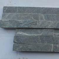N Green 6 Lines Slate Stone
