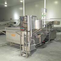 SS Shrimp Washer Machine