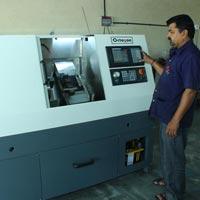 PVC Pipe Threading CNC Lathe Machine 01