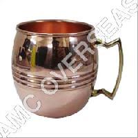 Antique Copper Mugs