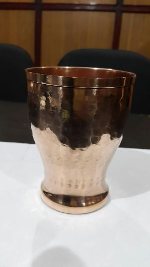 Copper Drinking Glass 01