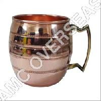 Decorative Copper Mugs