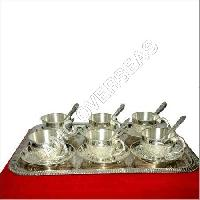 Silver Plated 6 Bowl Set