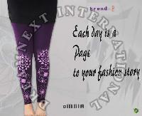 Printed Ankle Legging - Omnia