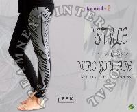 Printed Ankle Legging - Peak