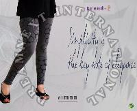 Printed Ankle Legging - Dimon