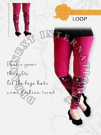 Printed Ankle Legging - Loop