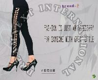 Printed Ankle Legging - Recur