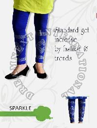 Printed Ankle Legging - Sparkle
