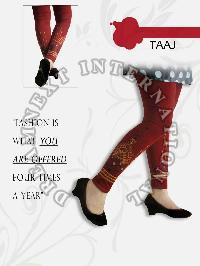 Printed Ankle Legging - Taaj