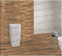 S-406 Wooden Strip Floor Tiles