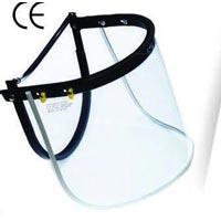 Helmet mountable welding shield
