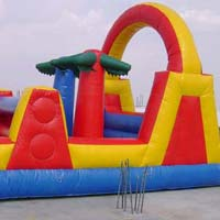 Inflatable Obstacle Bouncers