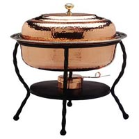 Copper Chafing Dish 02