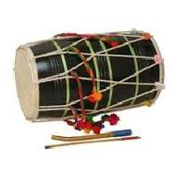 Wooden Dhol